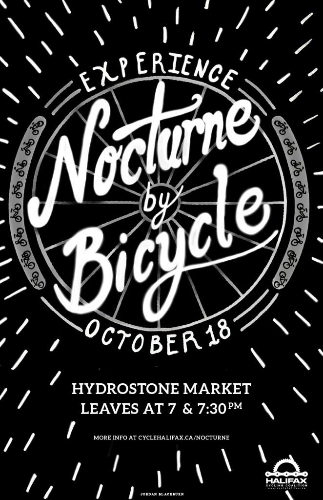 Nocturne Halifax by Bike