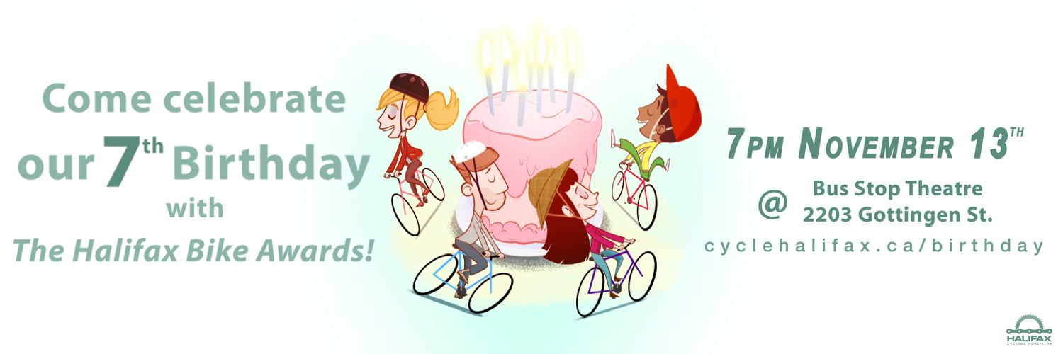 Halifax Cycling Coalition's 7th Birthday