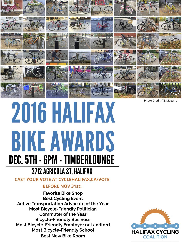 Halifax Bike Awards 2016
