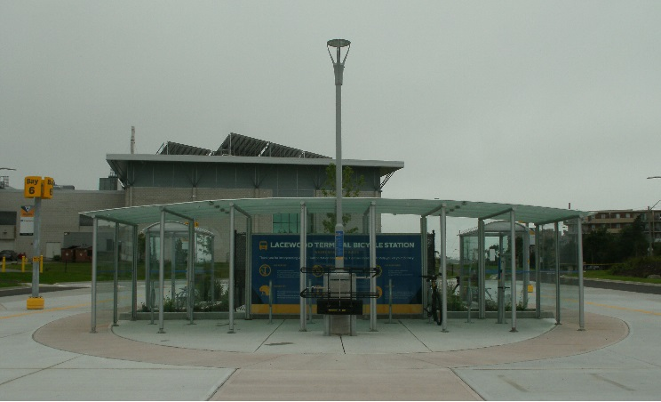 Lacewood Terminal benefits bicycle riders