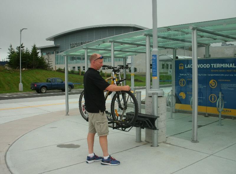 bus bicycle rack