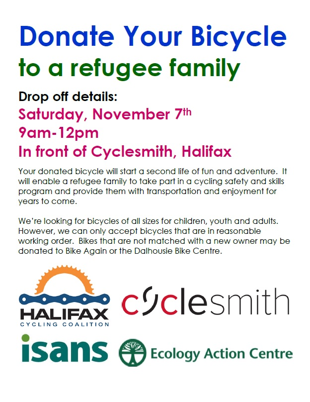 Donate your bicycle to a refugee family