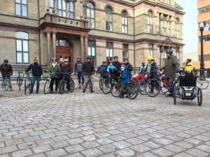 winter bicycle week frostbike ride