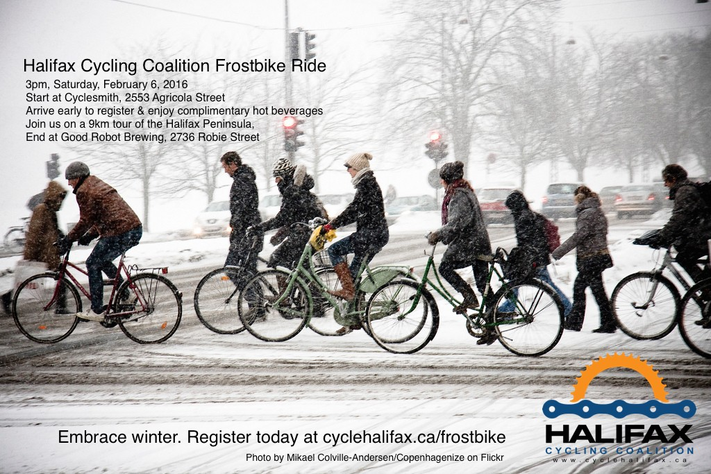 Halifax Cycling Coalition Frost Bike Ride