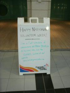 Happy National Volunteer Week.