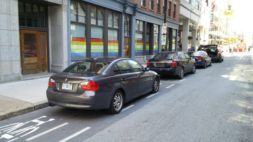 Protect Hollis Street Bicycle Lane