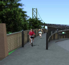 One proposed solution for the Macdonald Bridge ramp