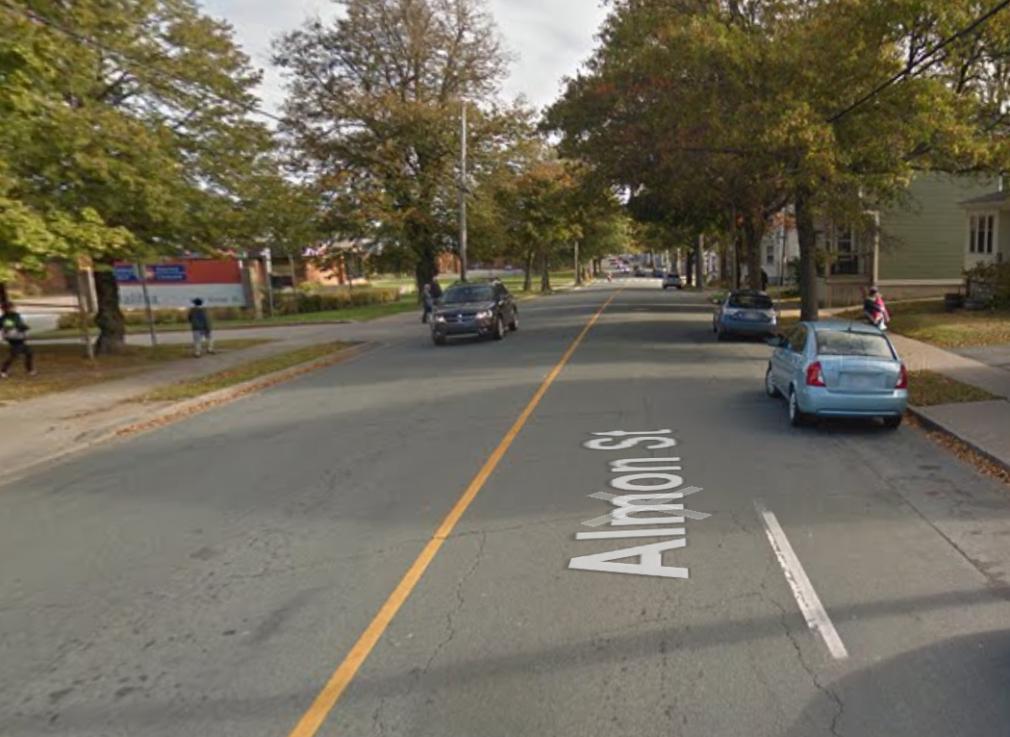 almon street bicycle lane